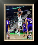 Paul Pierce, Game 2 of the 2008 NBA Finals; Action 7 Framed Photographic Print
