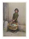 Flower Girl Giclee Print