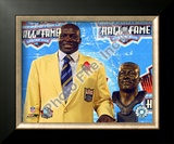 Bruce Smith 2009 NFL Hall of Fame Induction Ceremony Framed Photographic Print