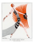Her Latest Dance Frock' by Gordon Conway Giclee Print