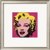 Marilyn, c.1967 (Hot Pink) Art by Andy Warhol