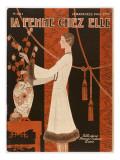 Flower Arranging 1929 Giclee Print
