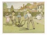 Gardener (Bedford) Giclee Print