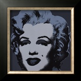 Marilyn, c.1967 (Black) Prints by Andy Warhol