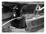Guarding London Against Cholera Giclee Print