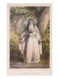 French Druid with Sickle Giclee Print