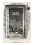 Interior of Cell at Pentonville Prison Giclee Print