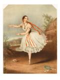 Flora Fabbri, Ballet Dancer 1846 Giclee Print
