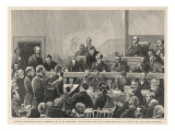 Guiteau, the Assassin of President Garfield, on Trial Giclee Print