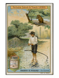 Hunting Beaver for their Skins in North America Giclee Print