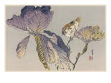 Japanese Print - Bird Giclée-Druck von Robert Gillmor