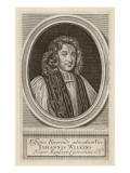 John Wilkins Bishop of Chester and Writer of Fantasy Books Giclee Print
