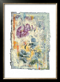 Abstract Roses IV Prints by Michel Lafontaine