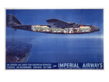 Imperial Airways Poster Wydruk giclee