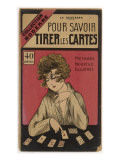 French Manual on How to Tell Fortunes with Playing Cards Giclee-vedos