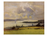Helensburgh and the Clyde, Viewed from the Golf Links Giclee Print