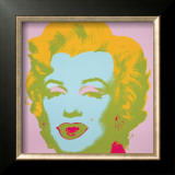 Marilyn, c.1967 (Pale Pink) Art by Andy Warhol