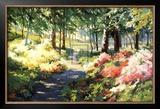 Winterthur's Azaleas Poster by Martha Saudek