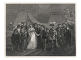 Henry V and Catherine Giclee Print