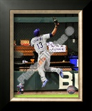Carl Crawford 2009 MLB All-Star Game Framed Photographic Print