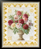Floral Tapestry with Roses Prints by Tan Chun