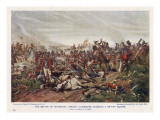French Cuirassiers Attack a British Square Giclee Print