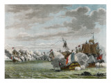 Glorious First of June, the French Fleet Is Defeated by Howe Off Ushant Giclee Print