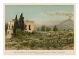 Giacomo Leopardi Villa Ferrigni, Italy, Where the Italian Poet Wrote 'Ginestra' Giclee Print