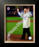 Yogi Berra Final Game at Shea Stadium 2008 Framed Photographic Print