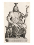 Hades in Greek Mythology: the Ruler of the Infernal Regions Giclee Print