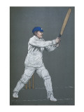 George H Hirst - Cricketer for Yorkshire and England and a Fine All-Rounder Giclee Print
