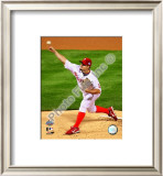 Joe Blanton Game 4 of the 2008 MLB World Series Framed Photographic Print