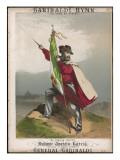 Giuseppe Garibaldi Italian Patriot, Honoured in 'the Garibaldi Hymn - to Rome or Death! Giclee Print