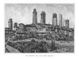 Italy San Gimignano Giclee Print