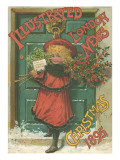 Illustrated London News Front Cover Christmas 1895 Giclee Print