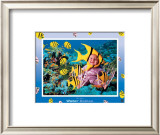 Water Babies Yellowfish Posters by Tom Arma