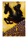 International Horse Show Advert Giclee Print