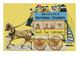 Hovell's Christmas Crackers and Fancy Confectionery Giclee Print