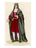 Grand Master of the Order of Malta, St John of Jerusalem Giclee Print