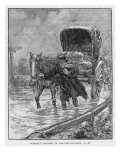 John Wesley's Carriage Giclee Print