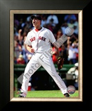 Jonathan Papelbon 2009 Celebration Framed Photographic Print