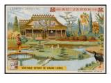 Japanese Garden Giclee Print