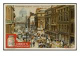 Fleet Street (Liebig) Giclee Print
