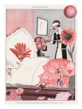 Hangover after the Party Giclee Print