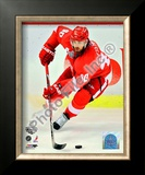 H. Zetterberg - 09&#39; St. Cup / Gm. 1 Framed Photographic Print