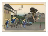 Hiroshige - Stations of the Tokaido Giclee Print by Robert Gillmor
