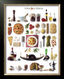 Flavors from Italy Prints