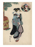 Japanese Woman in Traditional Costume Giclee Print by Robert Gillmor