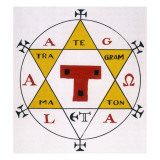 Hexagram of Solomon Giclee Print