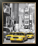 Times Square I Poster by John Lawrence